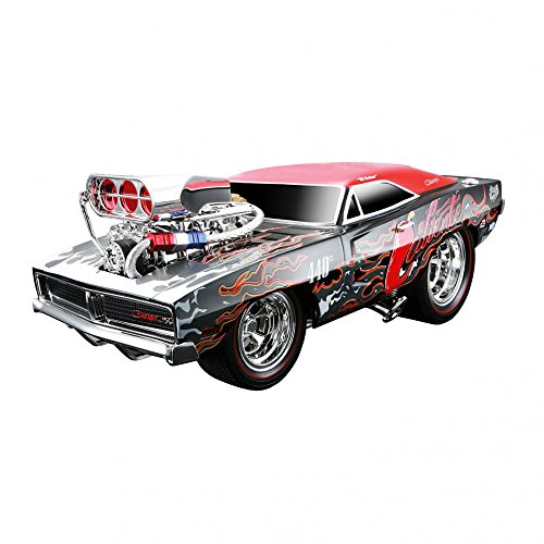 1969 Dodge Charger R/T 449 Caliente Muscle Machines Diecast 1:18 Scale