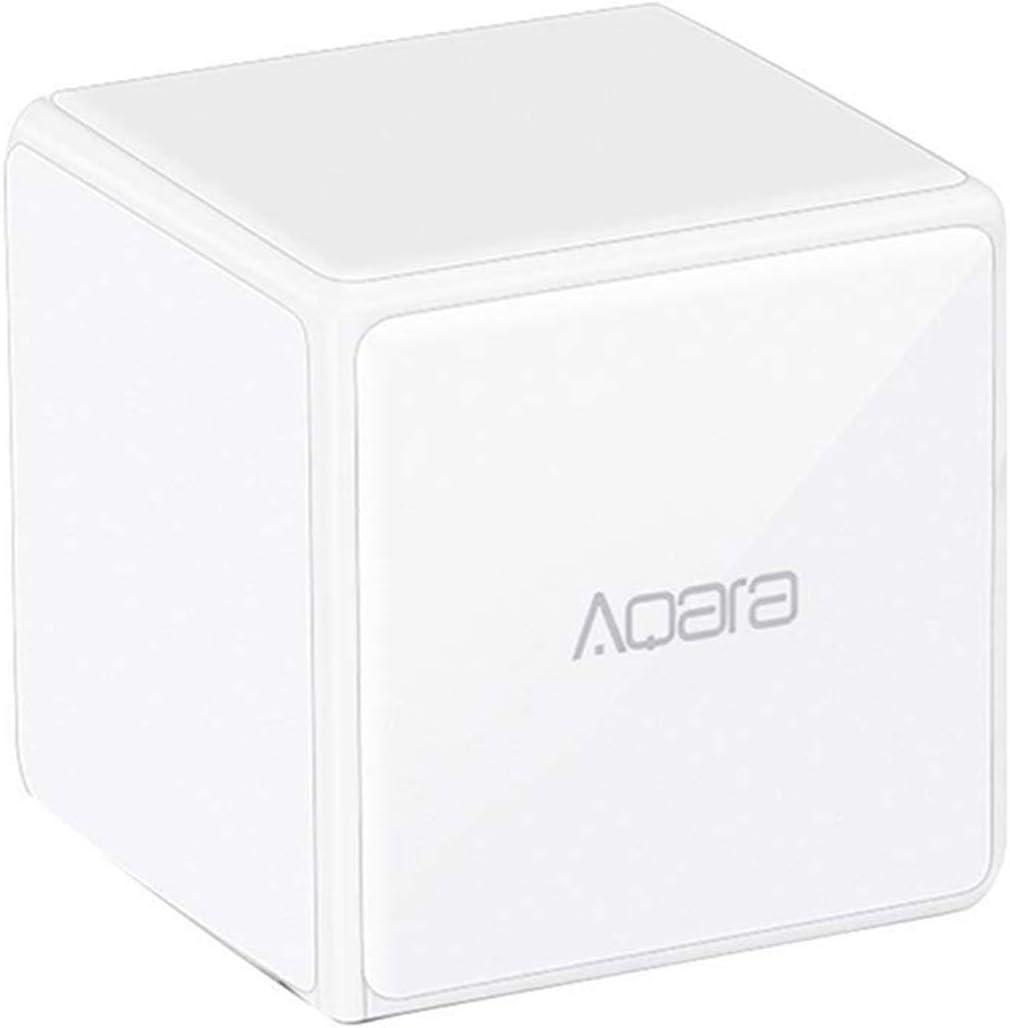Bainuojia para Xiaomi Aqara Magic Cube Controller Zigbee Versión se a través de 6 acciones para Smart Home Dispositivos controlado Trabajo para Mijia y Apple HomeKit App