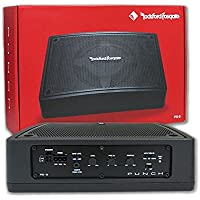 Rockford Fosgate Car Under Seat Super Slim Powered Subwoofer Enclosed 300 Watts