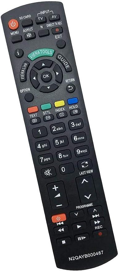 allimity reemplazo de Control Remoto N2QAYB000487 (para N2QAYB000354) Sub N2QAYB000239 Aptos para Panasonic TX-TX-L32G20E L37G20E TX-TX-P42GW20 P42G20E TX-TX-L42G20E P46G20E TX-TX-PR50G20 P50G20E: Amazon.es: Electrónica