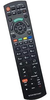 El nuevo Mando a Distancia Panasonic con NETFLIX, HOME, APPS Botón para todos los televisores inteligentes LCD LED 3D HD de Panasonic; No es necesario configurar un control remoto universal de TV: