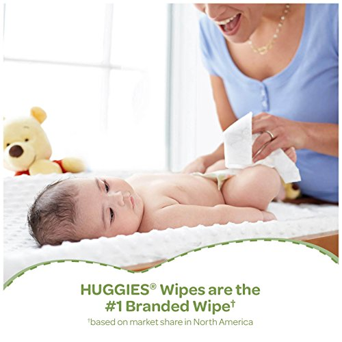Large Product Image of Huggies Natural Care Baby Wipes, Sensitive, Unscented, 3 Refill Packs, 648 Count Total