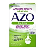 AZO Urinary Tract Infection Test Strips, 3-Count Boxes (Pack of 2)