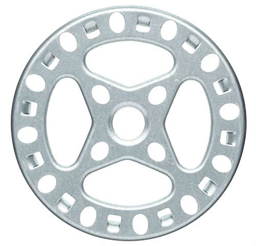 "KitchenCraft Galvanised Iron Gas Ring Reducer, 12 cm (4.5"")"