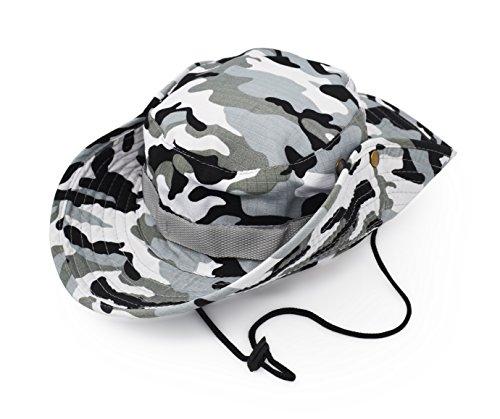 UltraKey Boonie Hat, Classic US Combat Army Style Boonie Bush Jungle Hat Sun Cap Cotton - Boonie Jungle Hat