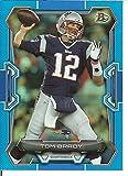 Football NFL 2015 Bowman Blue Paper Parallel #70 Tom Brady #d 44/99 Patriots