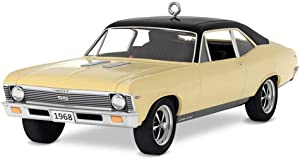 Hallmark Keepsake Christmas Ornament 2018 Year Dated, Classic American Cars 1968 Chevrolet Nova SS, Metal