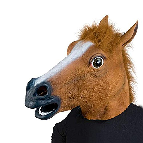 Jfk Halloween Costumes - narutosak Halloween Mask Novelty Animal Horse
