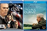 Experience Clint In the Line of Fire & Trouble With The Curve Baseball 2 Blu Ray Double Feature (Eastwood)