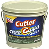 Cutter 95783 Citro Guard Citronella Candle, Bucket, Tan, 17-Ounce, Pack of 1,