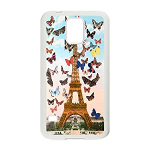 Wholesale Cheap Phone Case For Samsung Galaxy S5 -eiffel tower-LingYan Store Case 18