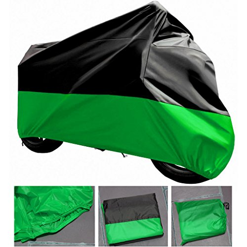 XXL-BG Motorcycle Cover For YAMAHA V Star Tourer UV Dust Prevention by flyxii
