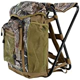Realtree Sport Seat Backpack with Built-in Chair