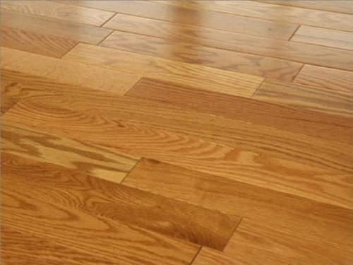 3 1 2 X 4 Inch Greenland Solid Hardwood Oak Golden Wheat Flooring 6 Sample