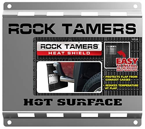 (Rock Tamers, Llc Black Standard RT230 Rock Tamer Heat Shield)