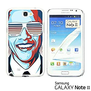 OnlineBestDigital? - Celebrity Star Hard Back Case for Samsung Galaxy Note 2 - OBAMA
