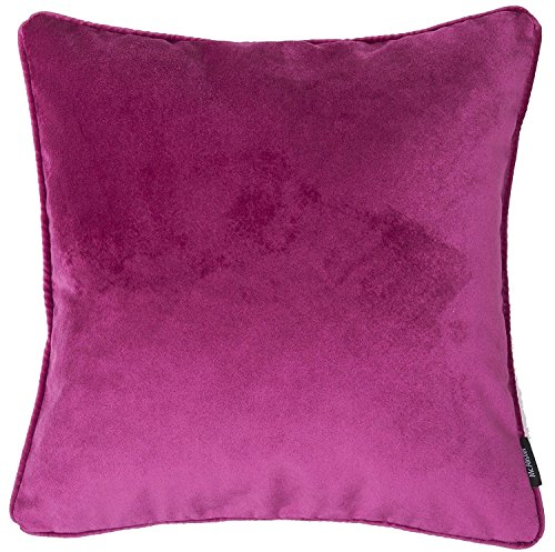 McAlister Matt Velvet | Decorative Pillow Cover Case | 17x17