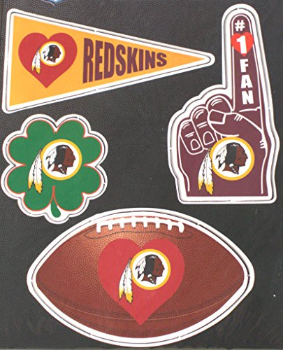 Washington Redskins 4 Pack Team Magnets ()