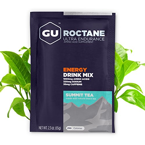 GU Energy Roctane Ultra Endurance Energy Drink Mix, Summit Tea, 10-Count Packets