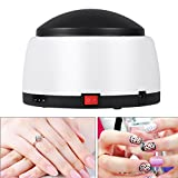 Gel Nail Polish Remover Steamer, 36W Fast Nail Gel Polish Remover Machine Portable Nail Resurrection Harmless Machine Nail Art Tools (Electric, Black)