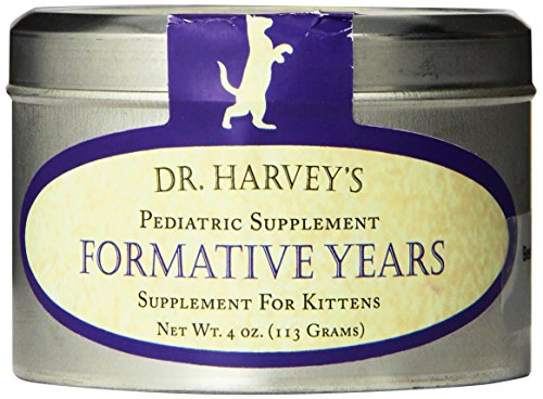 Dr. Harvey's Formative Years Herbal Supplement for Kittens, 4-Ounce Tin