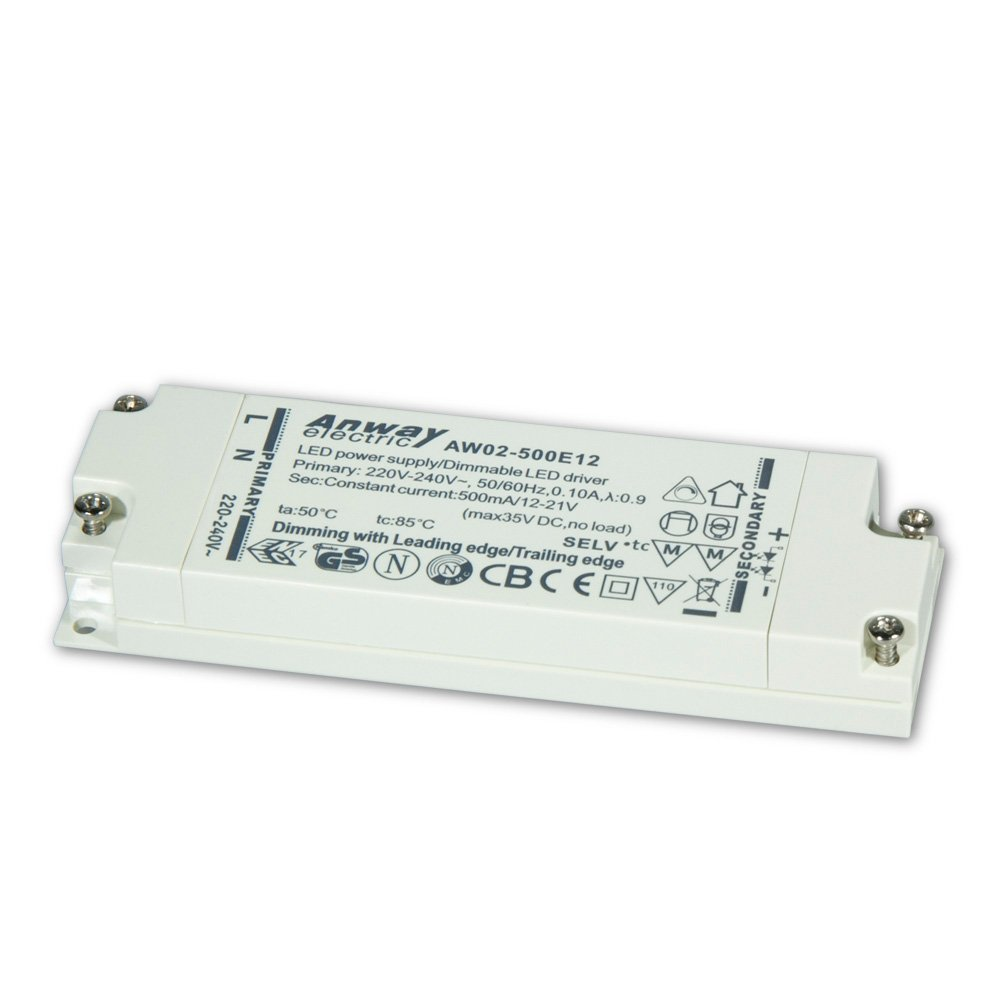 00011915 - ANWAY LED Treiber AW02-500E12 11W/500mA/12-21V