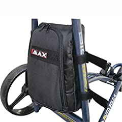 The cooler bag for Auto fold and Blade trolley offers enough space for your beverages and keeps them cool and fresh for a whole round of golf.