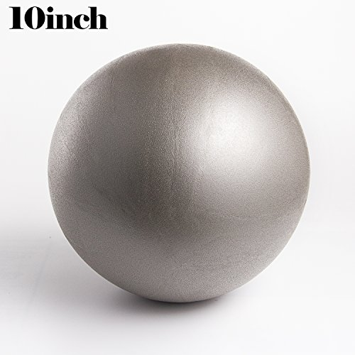 WATINC Mini Exercise Balls (10in)--gray