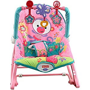 Fisher-Price Infant-to-Toddler Multi-Purpose Play, Seat, and Feeding Rocker with Baby Wipes, 128 Count