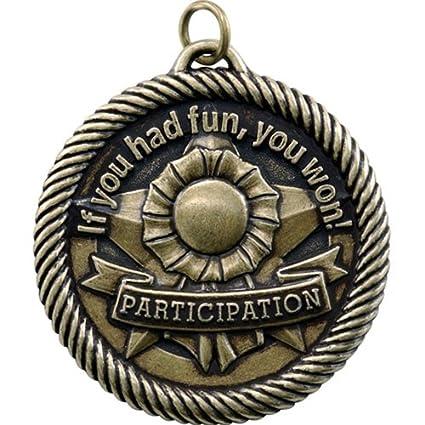 amazon com participation if you had fun you won award medal