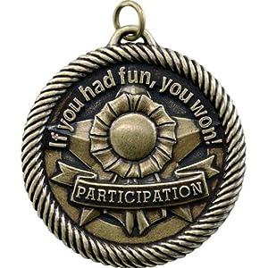 Amazon.com: Participation If You Had Fun You Won Award Medal ...