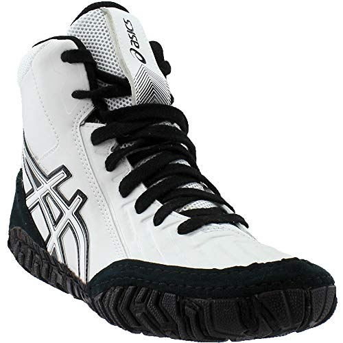 ASICS Mens Aggressor 3 Wrestling Shoe, Black/Rich Gold, 10 Medium US