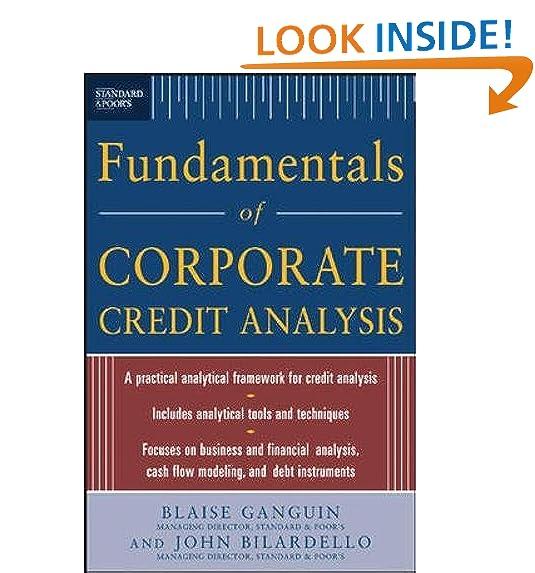 Standard U0026 Pooru0027s Fundamentals Of Corporate Credit Analysis