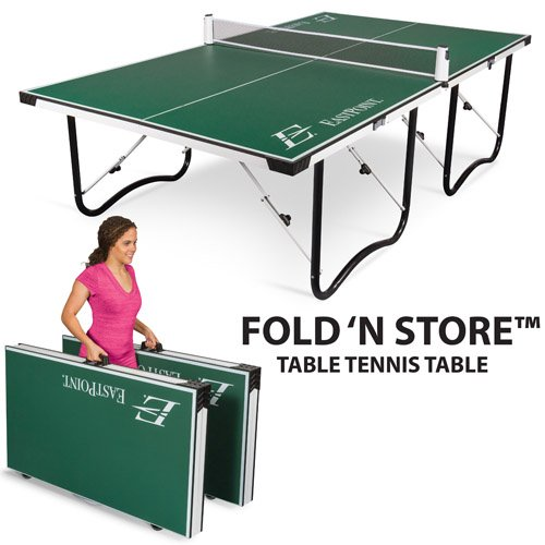 EastPoint Sports 15mm Fold-n-Store Table Tennis Table (1
