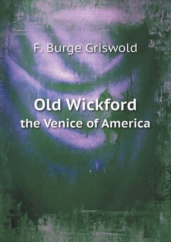 Download Old Wickford the Venice of America pdf