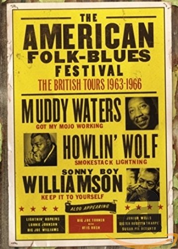 DVD : Muddy Waters - The American Folk-Blues Festival: The British Tours 1963-1966 (DVD)
