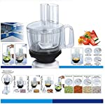 Maggi RIO All in one 3G Food Processor Attachment for Mixer, Black