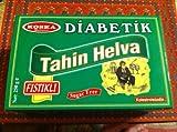 Diabetiker Pistachio Halva - 8.82oz (250g), Diabetik Fistikli Helva, Sugar Free