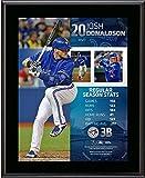 """Josh Donaldson Toronto Blue Jays 10.5"""" x 13"""" 2015 American League MVP Sublimated Plaque - Fanatics Authentic Certified"""