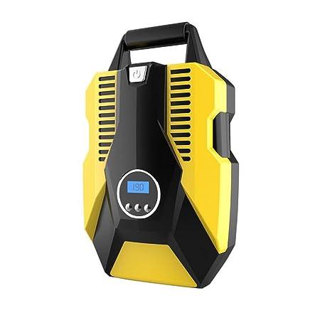 YLG Compresor De Aire, Inflador con Pantalla Digital,12V,Cable De 3M,Pequeño Y Portátil, Adecuado para Viajes De Emergencia: Amazon.es: Deportes y aire ...