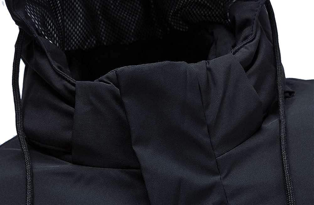 Icegrey Winter Coat with Hood Down Jacket Men Lightweight Overcoat