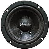 American Bass 5 Inch Midrange Sealed Basket Speaker Black 200W Max
