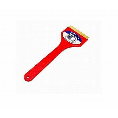 CJ Industries F101 Fantastic Ice Scraper with Brass Blade, Red: Automotive