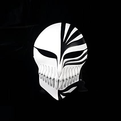 Amazon Com Cosplaywho Venetian Mardi Super Bleach Kurosaki Ichigo Black Hollow Mask Toys Games