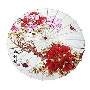 Amazon.com: Forart - Paraguas de papel barnizado chino a ...