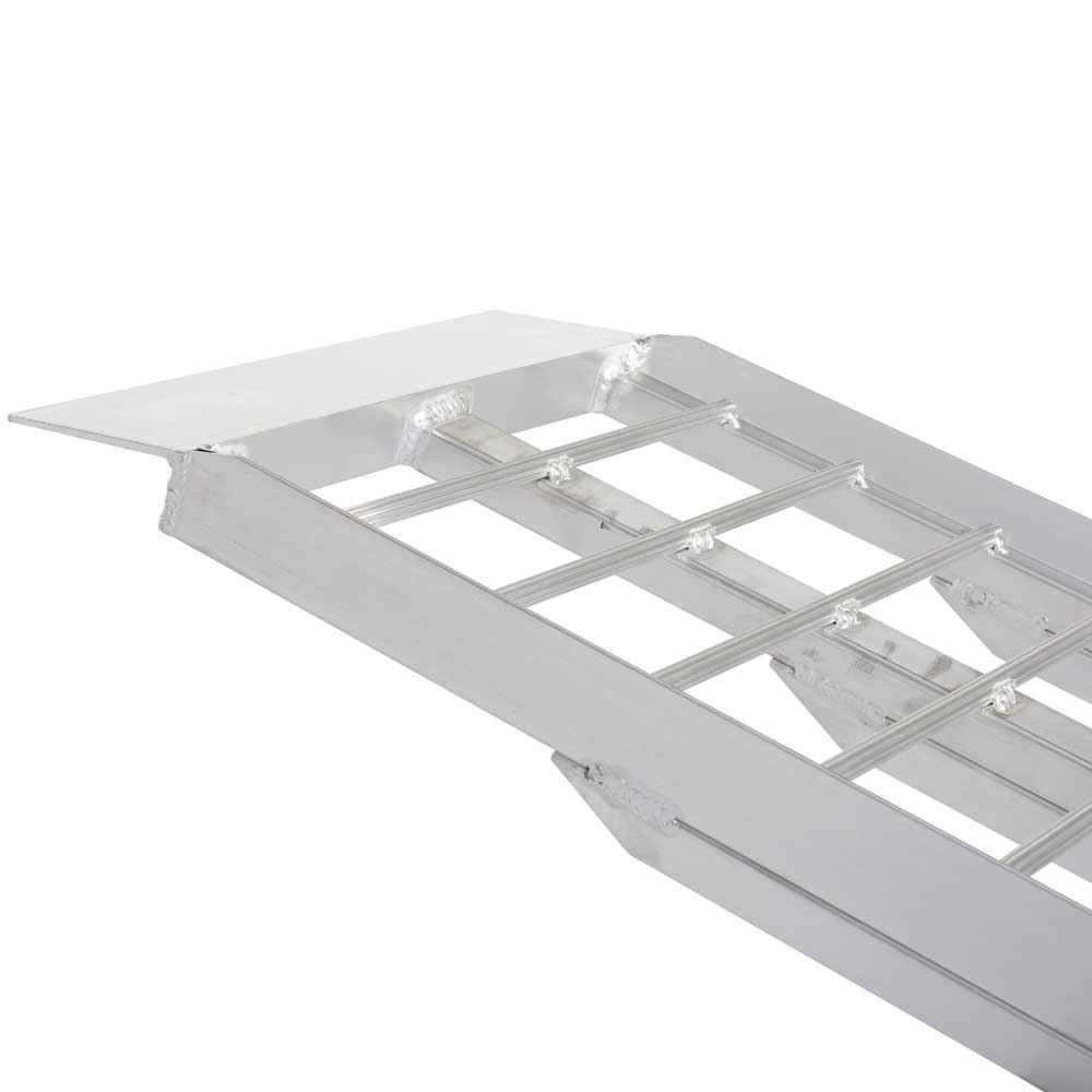 Rage Powersports 95'' Aluminum Non-Folding Arched Lawn & Garden Equipment Loading Ramps by Rage Powersports (Image #6)