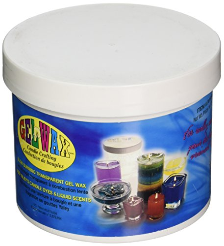 Yaley Candle Scent Liquid - Yaley 500000 23-Ounce Gel Candle Crafting Wax, Clear