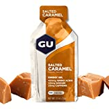 GU Energy Original Sports Nutrition Energy Gel, Salted Caramel, 24-Count