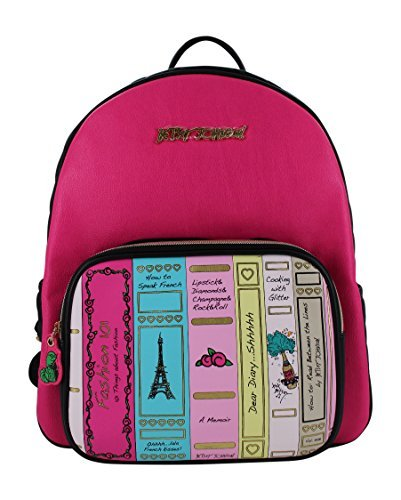 Betsey Johnson Back to School Library Backpack, Multi