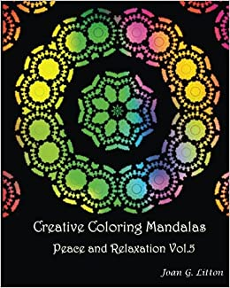 Amazon.com: Creative coloring mandalas Peace and Relaxation Vol.5: A ...